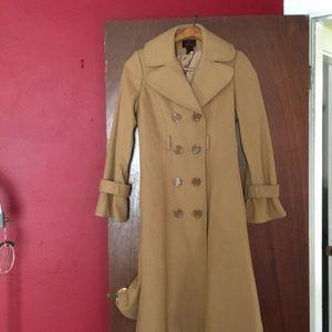 VIA camel color coat